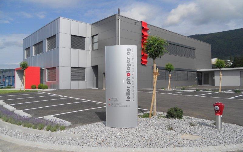 Neubau Industriegebäude Feller Pivotages AG Grenchen, Heiri Architektur und Immobilien AG, Bettlach, Grenchen, Solothurn