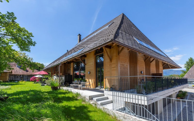 Ausbau Bauernhaus Oberwil - Heiri Architektur + Immobilien AG, Bettlach, Grenchen, Solothurn