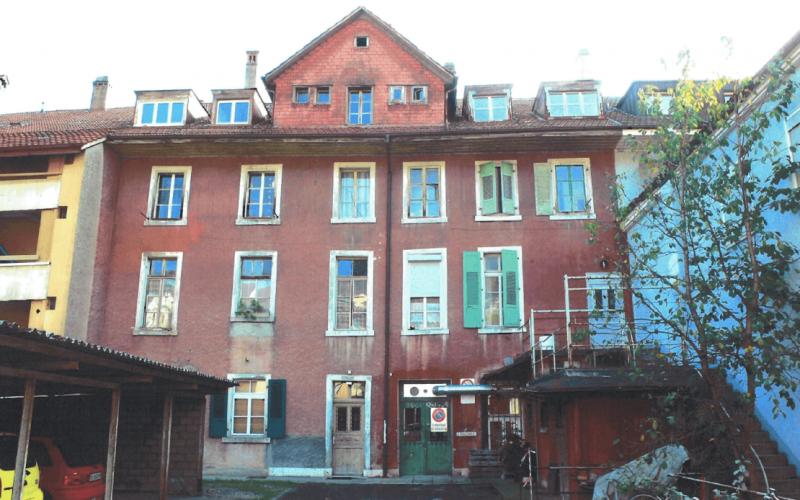 Sanierung denkmalgeschütztes MFH Biel - Sanierung Umbau Bözingenstrasse (165+161) Biel