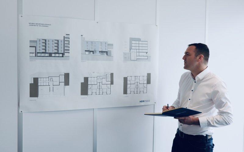 NATHANAEL MÜLLER - Heiri Architektur + Immobilien AG, Grenchen, Bettlach, Solothurn - neuer Mitarbeiter